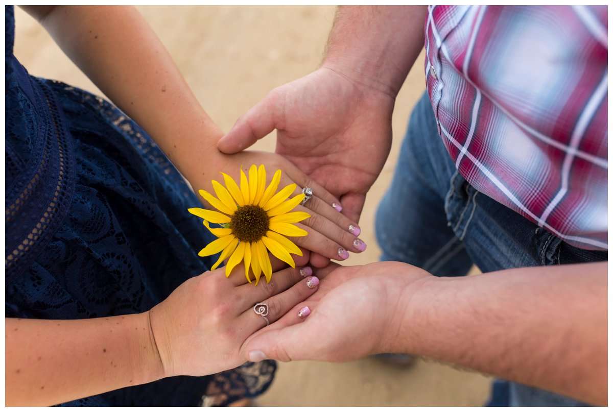 Sunflower Field Engagement Shoot | Bryce and Tessi's Engagement_0010.jpg