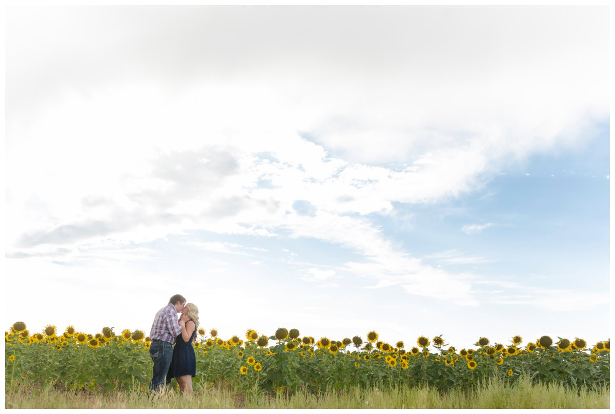 Sunflower Field Engagement Shoot | Bryce and Tessi's Engagement_0012.jpg