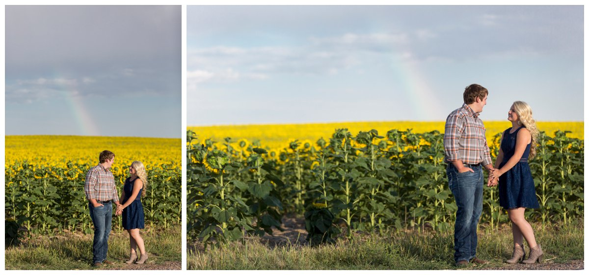 Sunflower Field Engagement Shoot | Bryce and Tessi's Engagement_0014.jpg