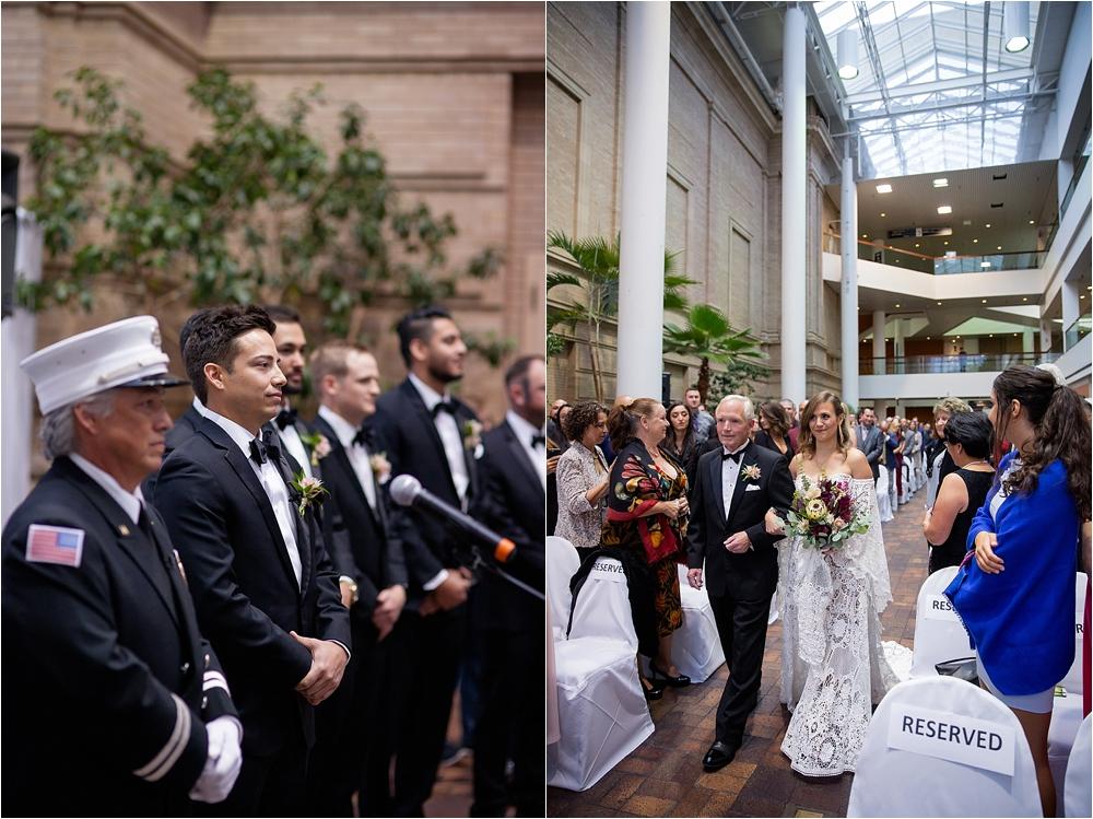 Lindsey and Stephens Denver Museum Wedding | Colorado Wedding Photographer_0041.jpg