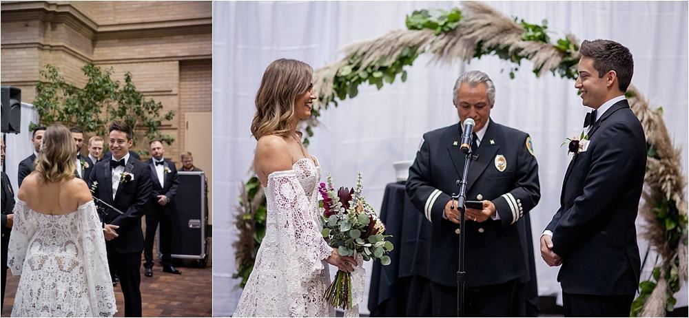 Lindsey and Stephens Denver Museum Wedding | Colorado Wedding Photographer_0044.jpg