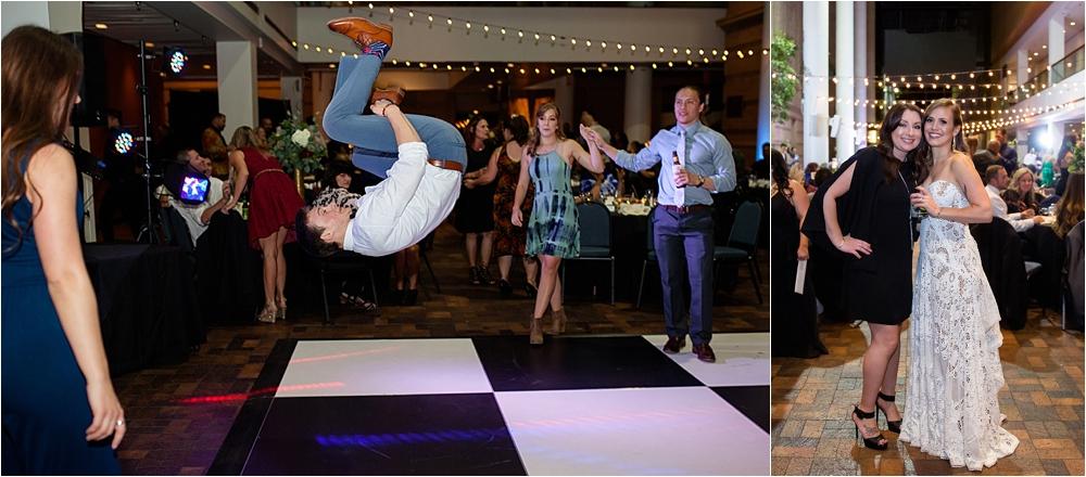 Lindsey and Stephens Denver Museum Wedding | Colorado Wedding Photographer_0072.jpg