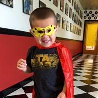 such a cute super hero!