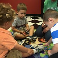 pretend play with super heroes