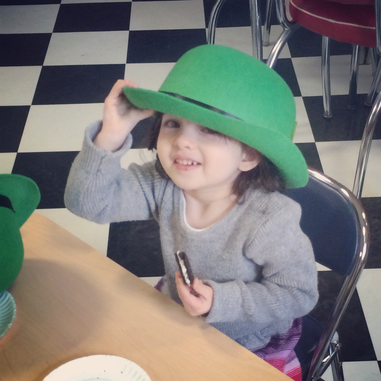 cutest little leprechaun around!