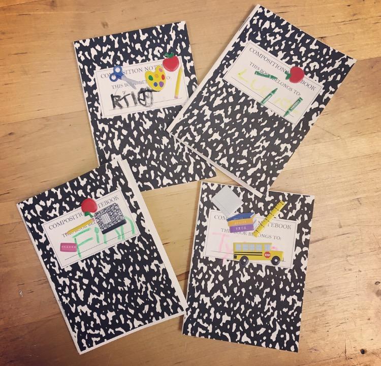 School Routine Notebooks