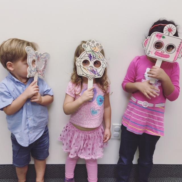 Awesome masks!