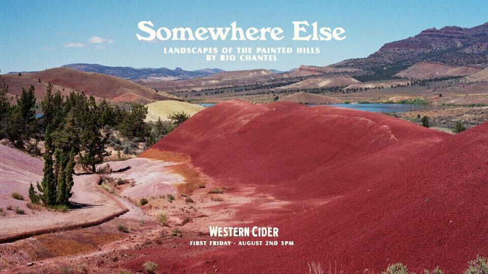 Somewhere Else - An exploration of place, longing and acceptance through the colorful landscapes of the Painted Hills in Eastern Oregon.VIEW: August - September 2019Western Cider | Missoula, MT