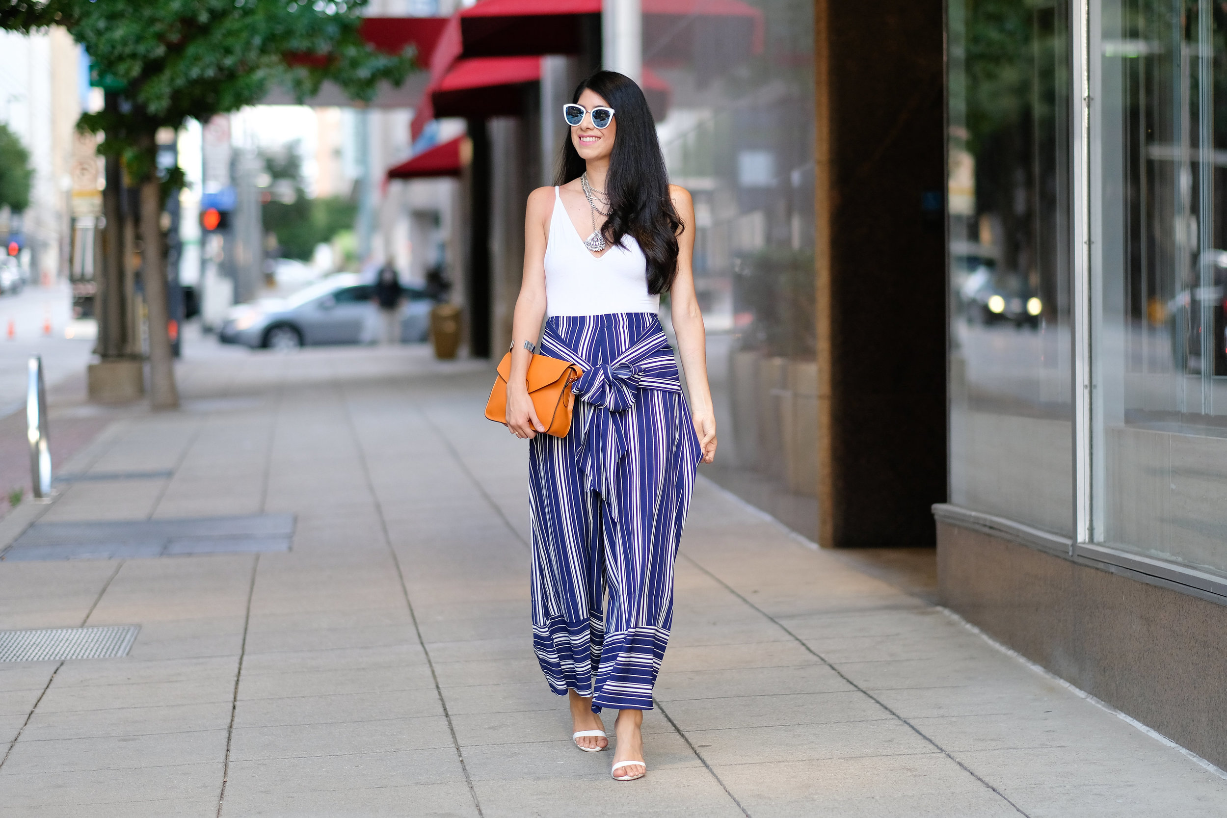Palazzo pants in the Fall