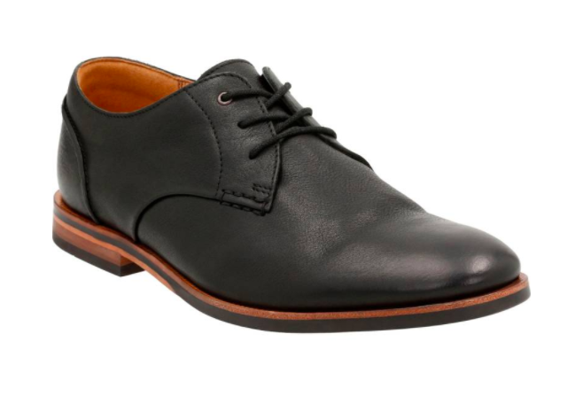 mens dress shoes in black