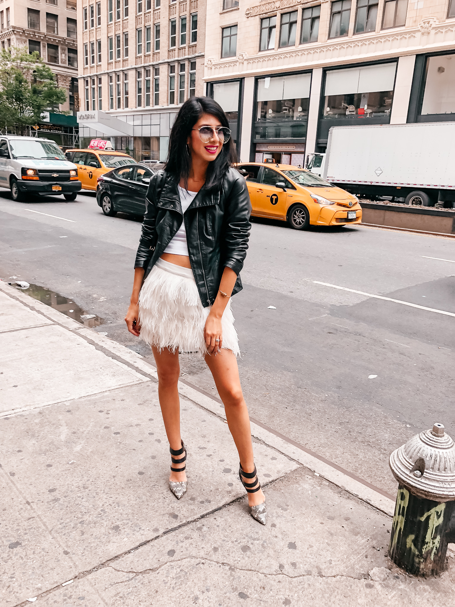 Feathered Skirt Style