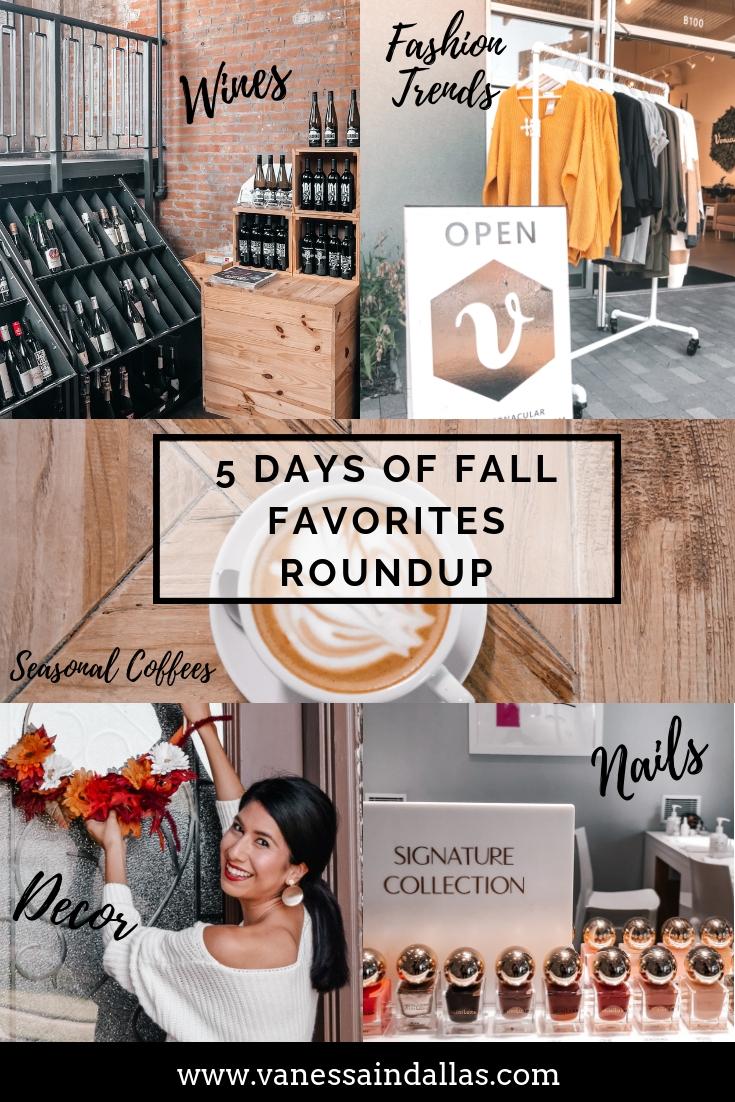 5 Fall Favorites Roundup