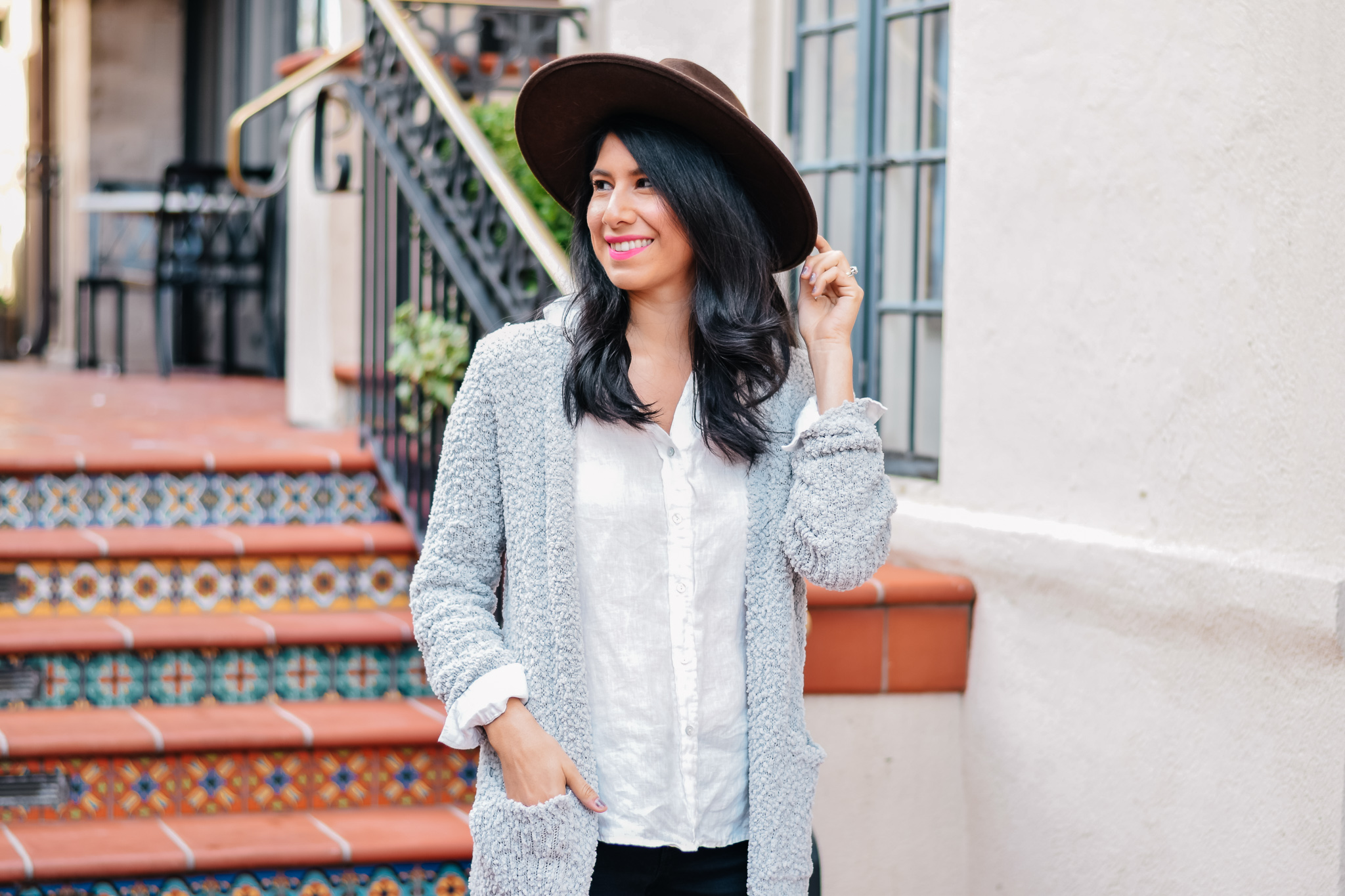 Ainsley Wool Panama Hat
