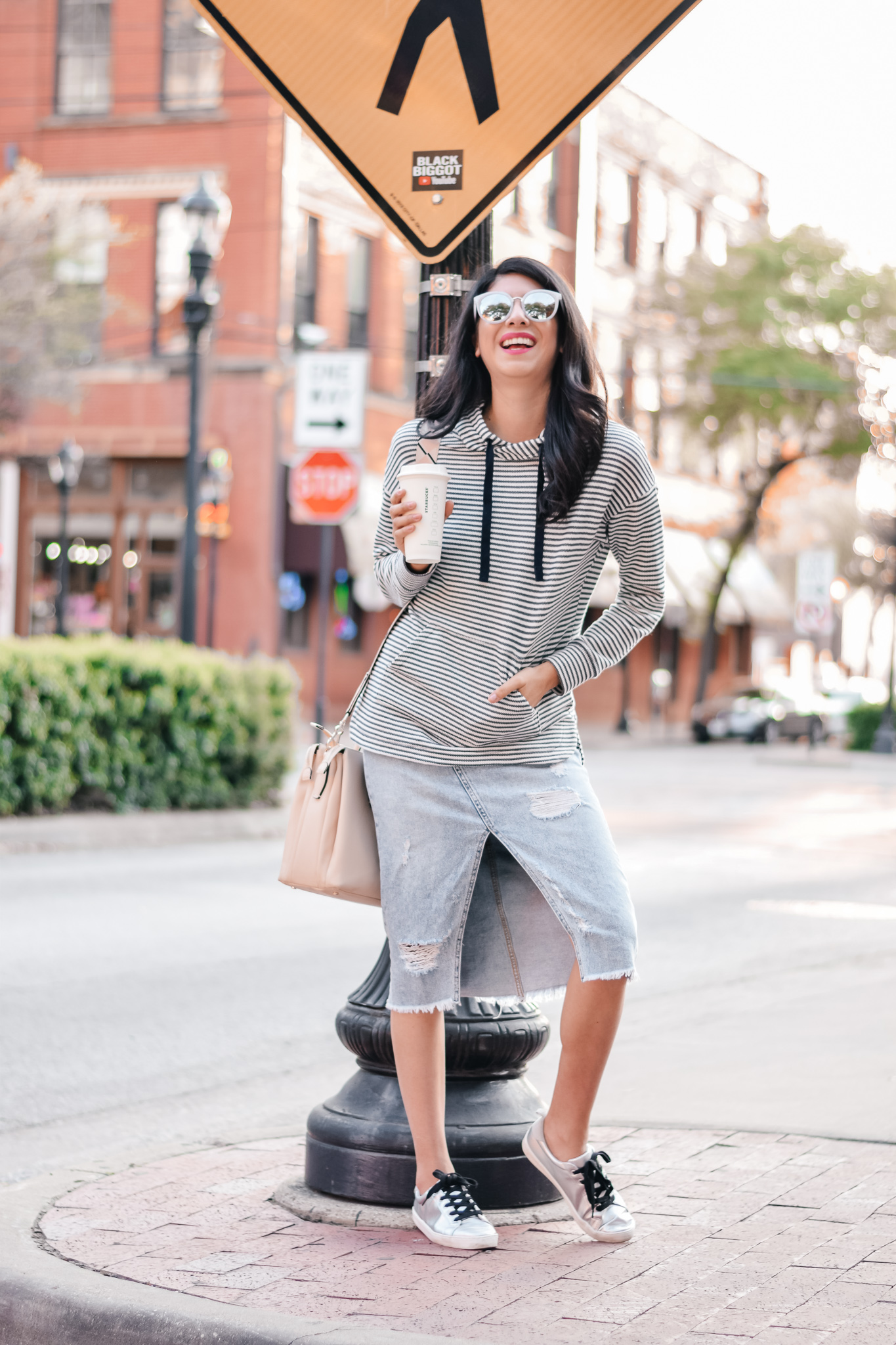 Casual Style with Vanessa in Dallas