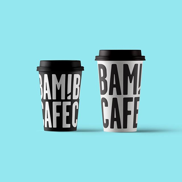"Redoing my portfolio has made me come across a bunch of work I have never posted. This coffee-on-the-go brand needed a strong typographic logo. My solution was a lock up where the accent in the ""É"" doubles up as the dot in the exclamation point in ""BAM!"". Bam is the name of the owners' French bulldog :). Done in Rio de Janeiro, 2017."