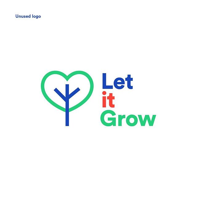 Unused, selected and old logos for @letitgrowbarra, an English language school in Brazil that nurtures students' cognitive, emotional and social growth. I personally liked the unused one the most, because of the heart. The other one was chosen because it was a closer, cleaner version of the old design. . . . . #branding #logo #logoredesign #rebrand #logodesign #logodesignlove #circularstd #redesign