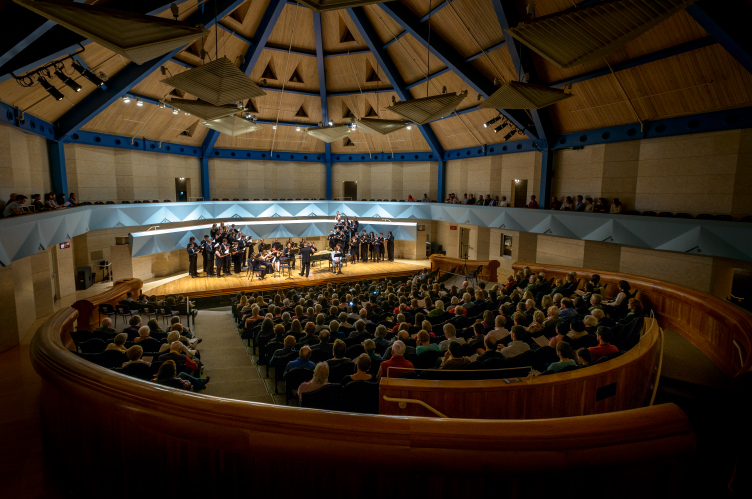 Robison Concert Hall at Middlebury College