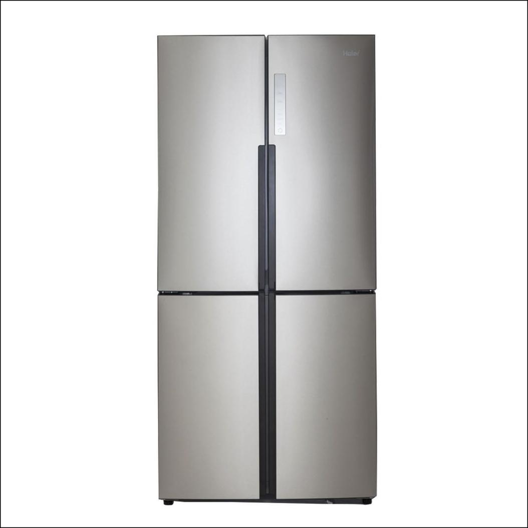 Stainless steel French door freezer/refrigerator