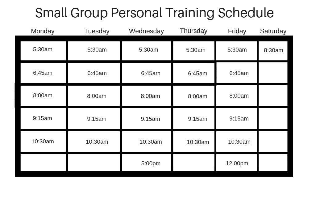 Small Group Personal Training Schedule 2.28.19.png