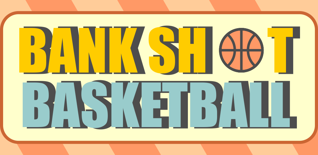 BANK SHOTBASKETBALL - Fun & Challenging - Swipe to shoot and bounce off the wall to make the basket. Easy to learn, but hard to master. Don't get SIKED (psyched) out if you can't make the shots. The key is to keep trying and learn how to shoot using angles.[Read More]