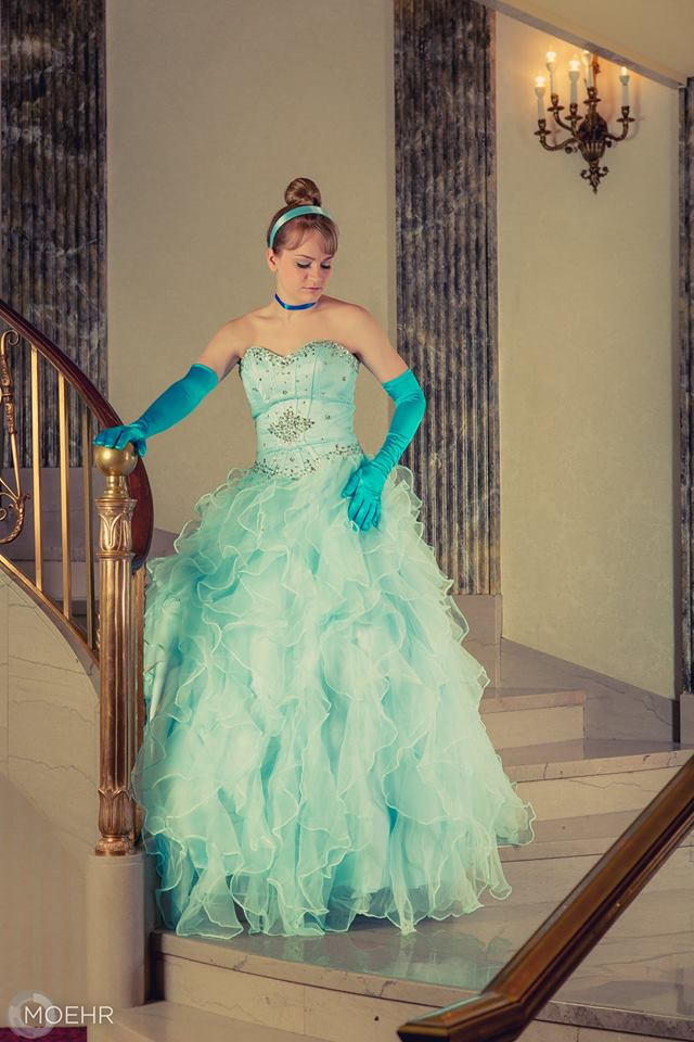 Julie   as Cinderella