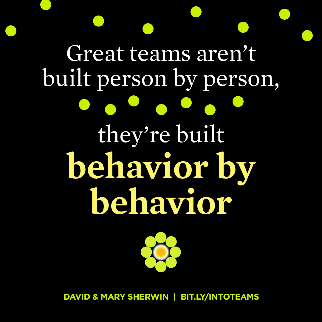 Behavior by Behavior - Turning People into Teams