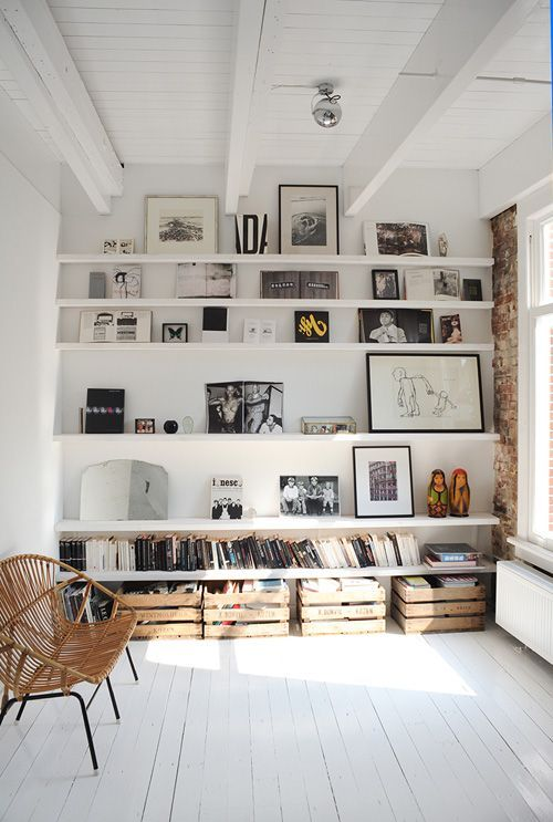 For folks who just love shelving: use them!!