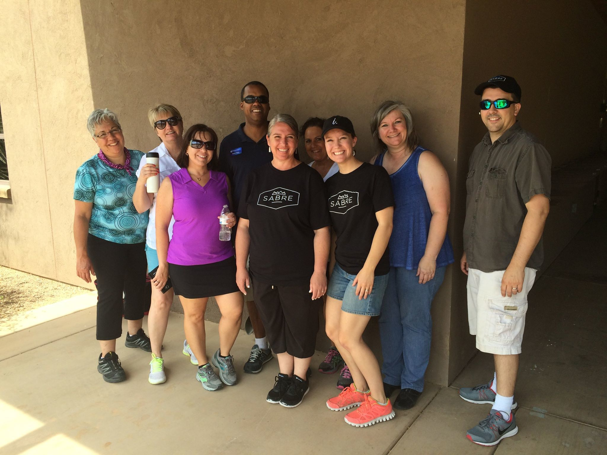 Volunteering with fellow SABRE Networking friends at a  Make-A-Wish Arizona  golf tournament.