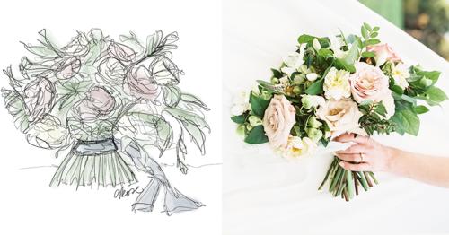 Flower Drawings For Design Inspiration