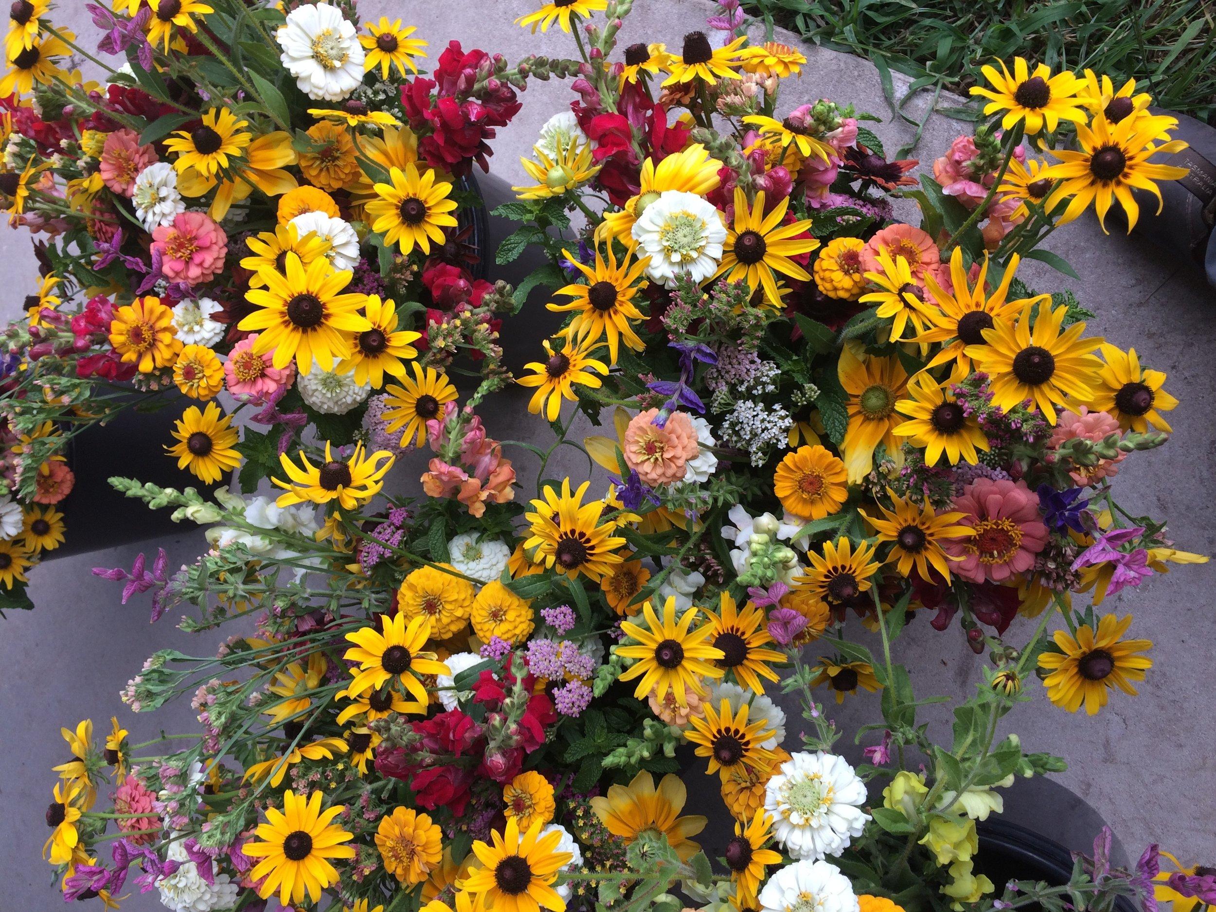 Week two bouquets.jpeg