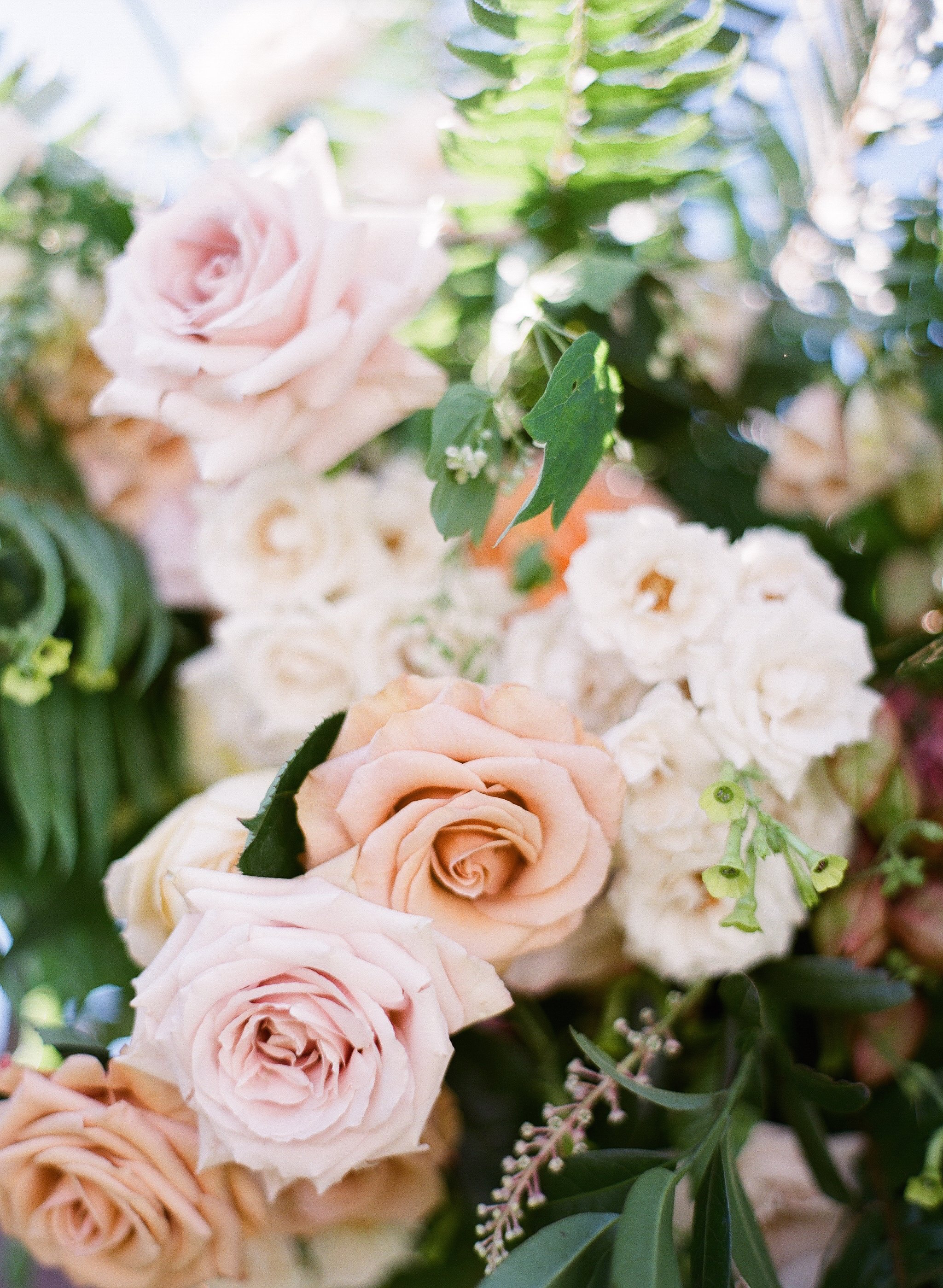 Video Create A Blush Bridal Bouquet List Of Flowers Included