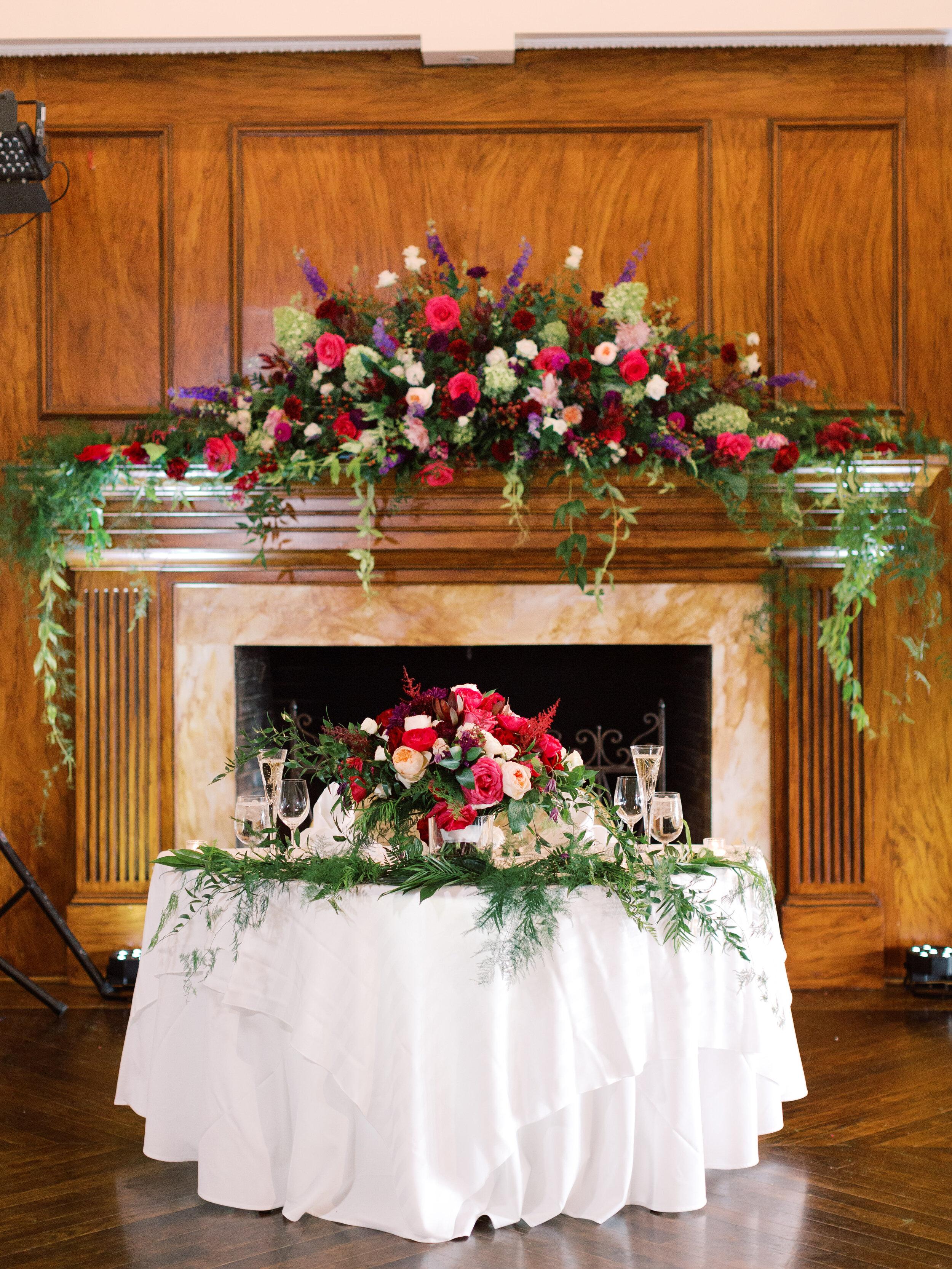 Repurposing Ceremony Flowers for Receptions