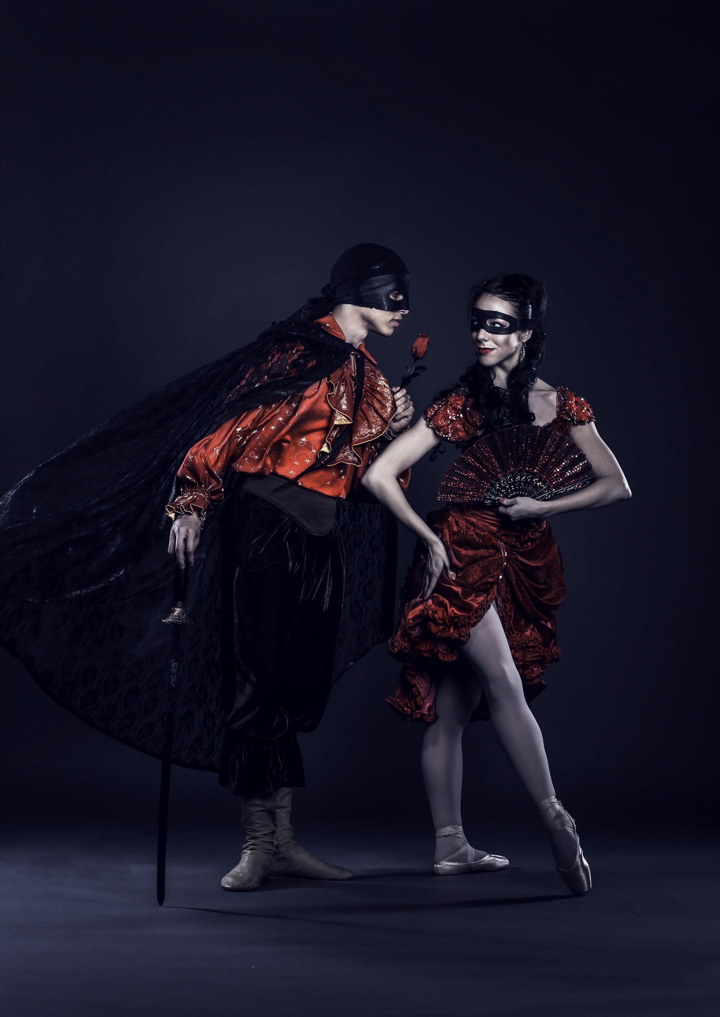 All-Original Choreography - allet Fantastique Resident Choreographer-Producers Donna Marisa + Hannah Bontrager (original premiere 2013)