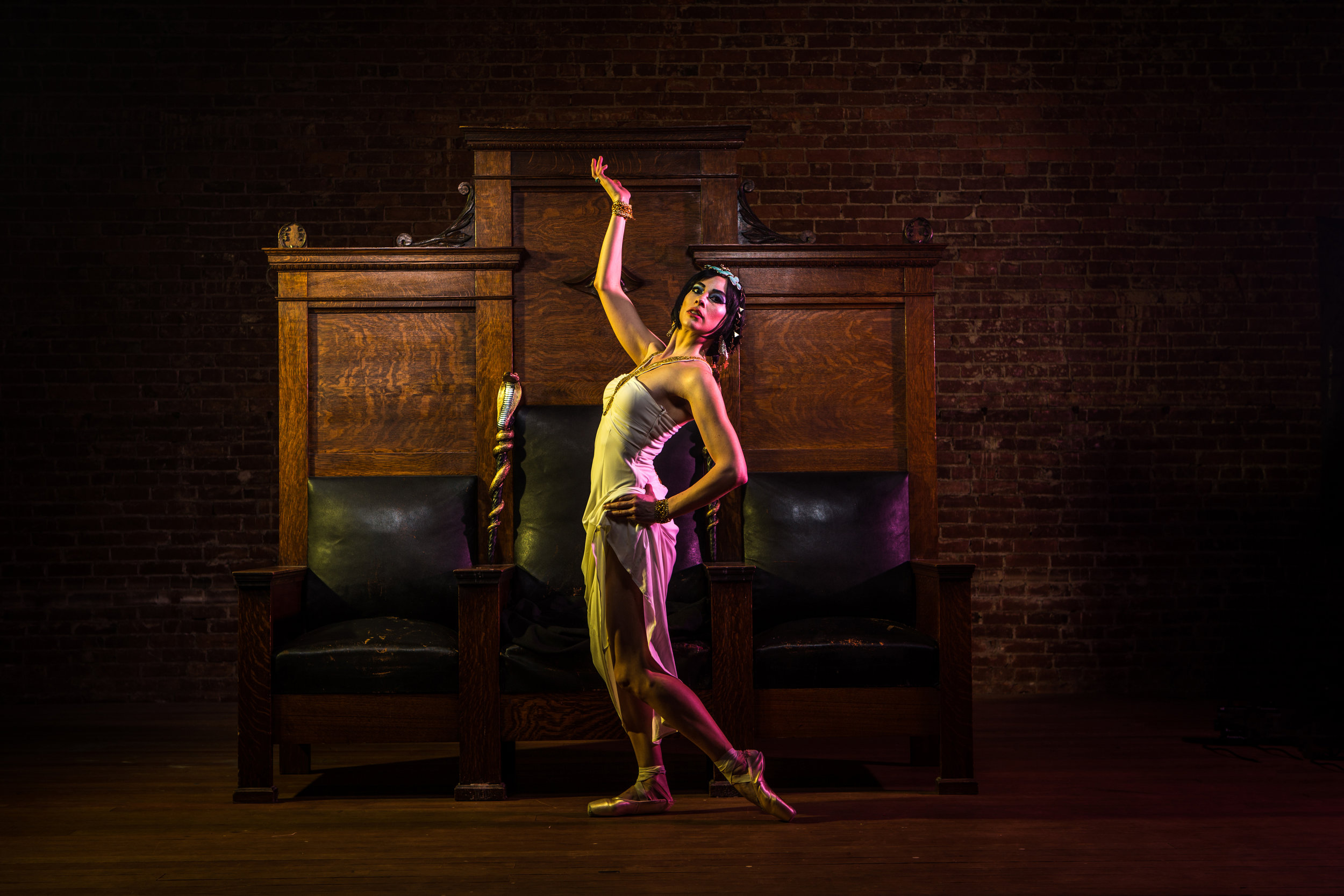 Cleopatra // PHOTO: BOB WILLIAMS + STEPHANIE URSO