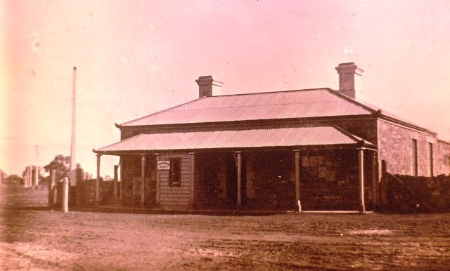 Beltana Telegraph Repeater Station when still open for business