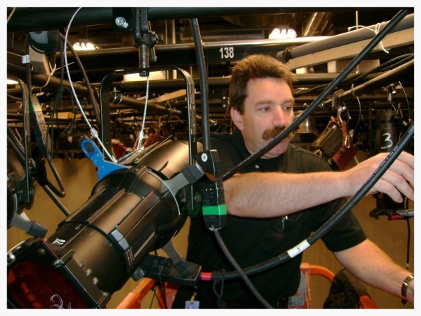 Lighting Director Phil Reilly