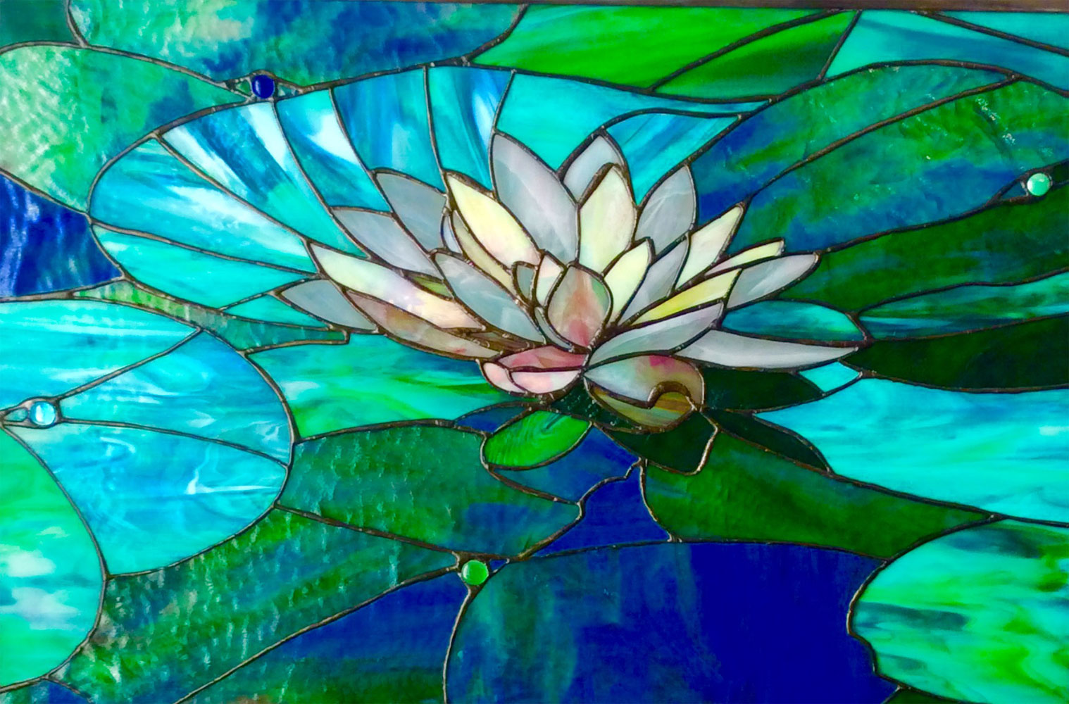 """""""The Water Lily"""" - 18""""x 26"""""""
