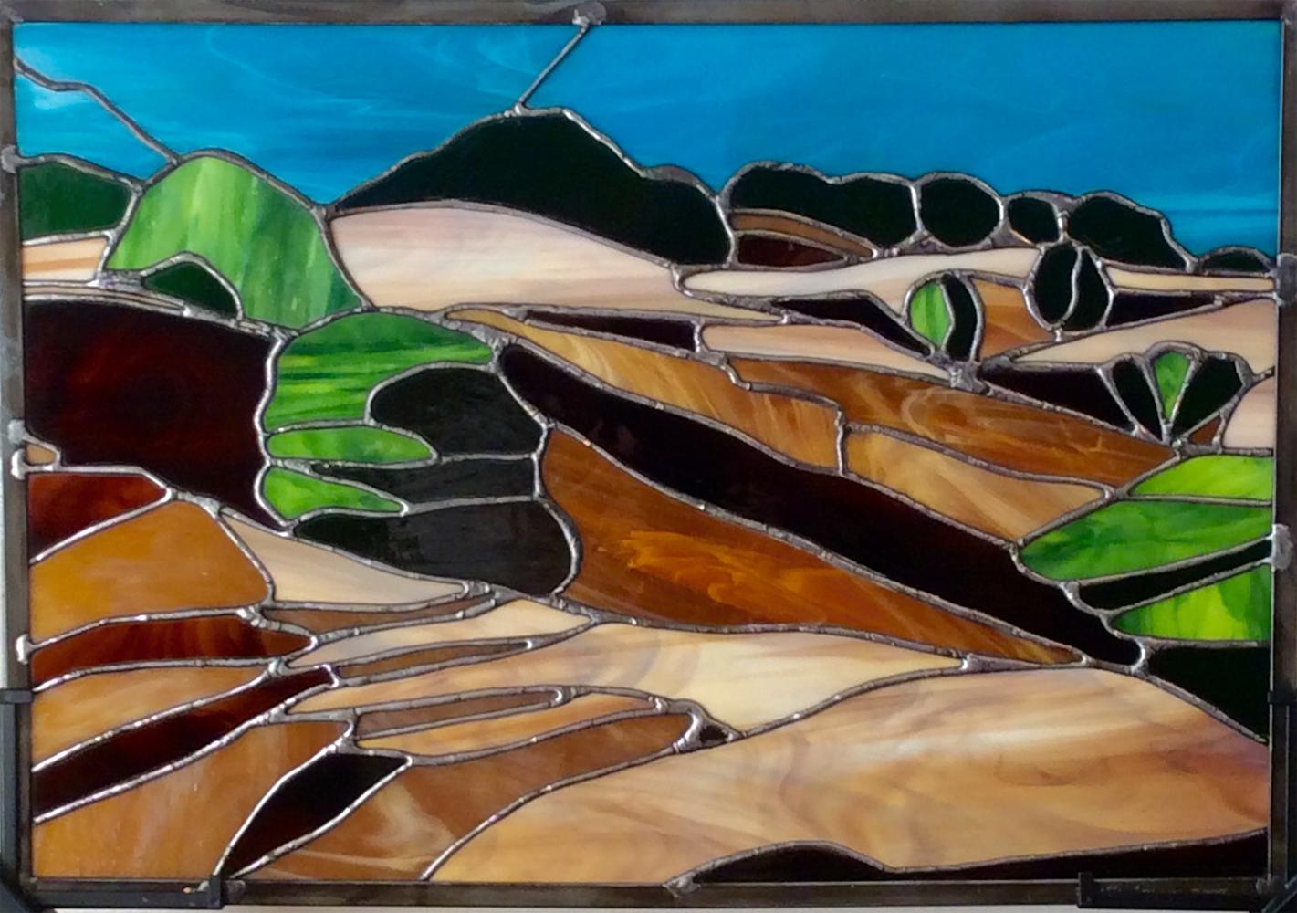 """Sonoma Summer Landscape"" - 16""x 20"""