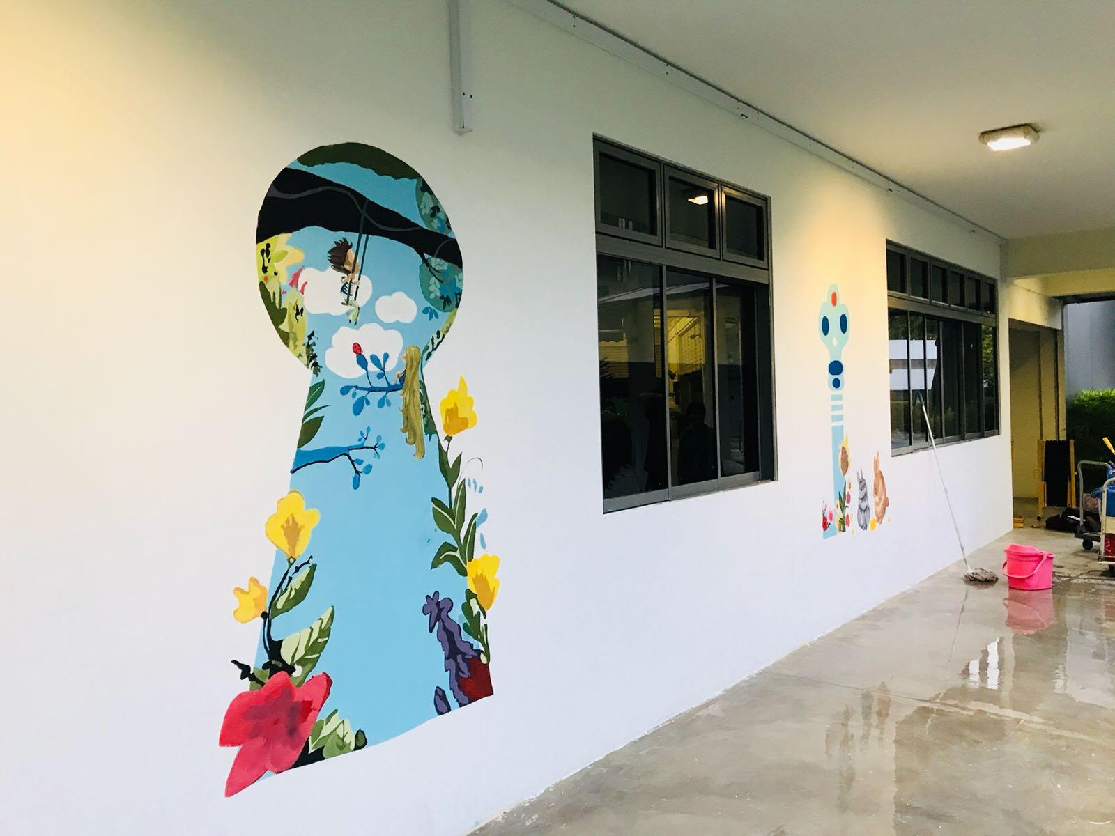Wall mural Edenschool_12.JPG