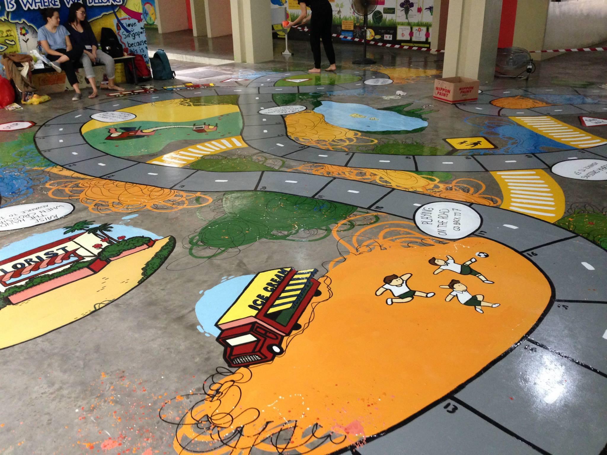 Children-themed Murals