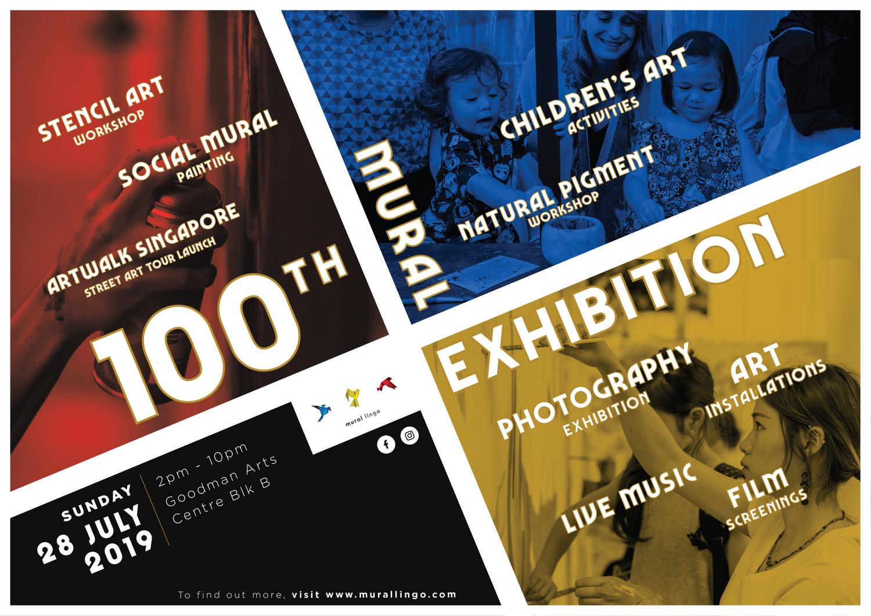 100th Mural Exhibition  @ Goodman Arts Centre