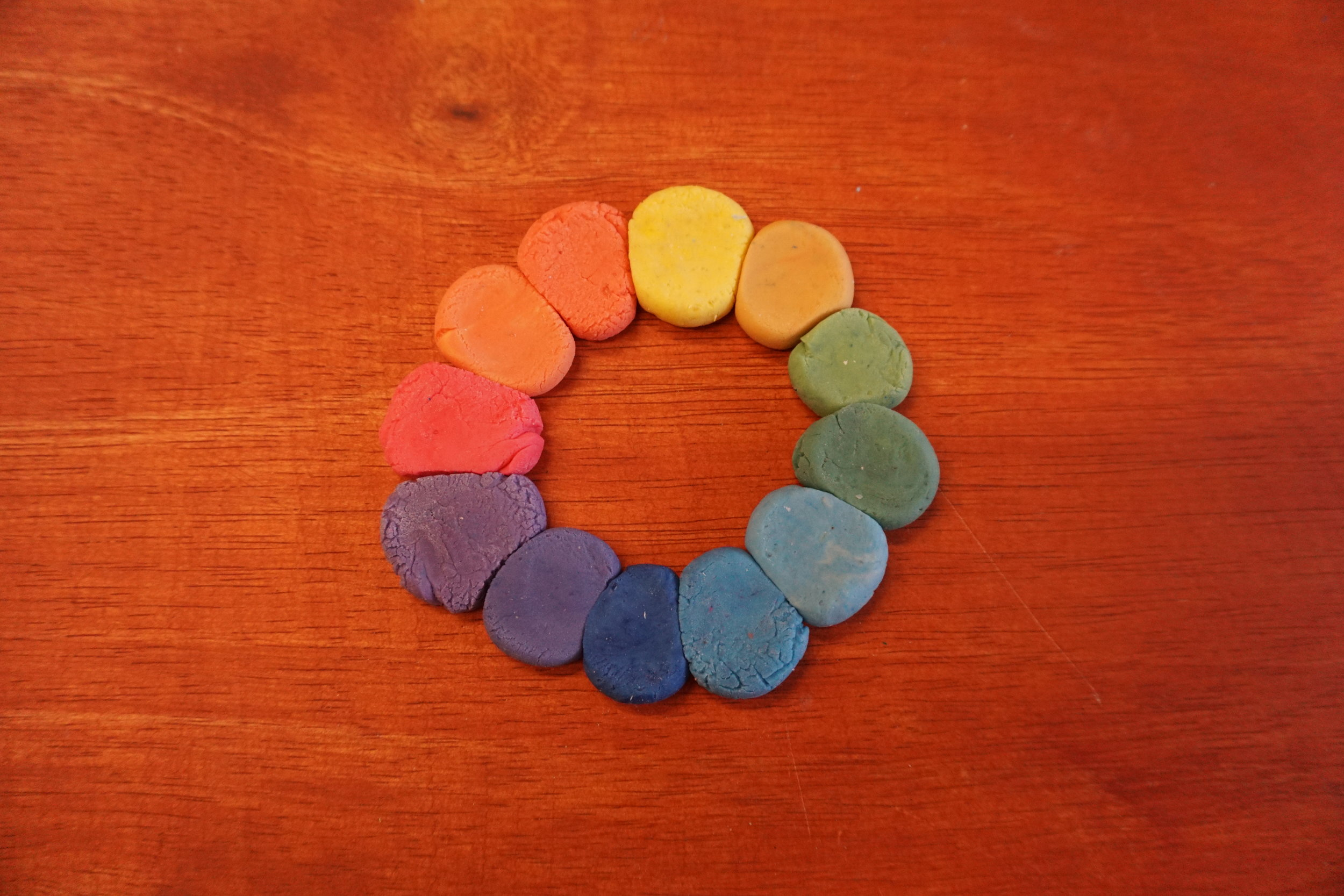Colour Dough Workshop -