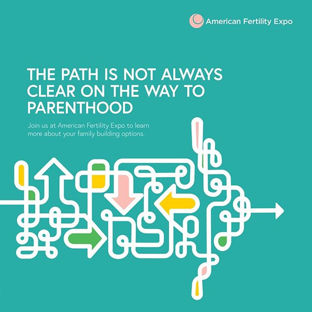 New brand campaign for American Fertility Expo. Great client. Beautiful mission. Loving the work we produced for them!