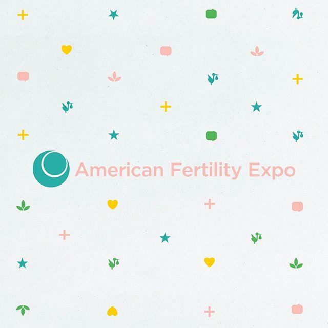 New refreshed look for American Fertility Expo  #design #logo #logodesigns #branding #brandingagency