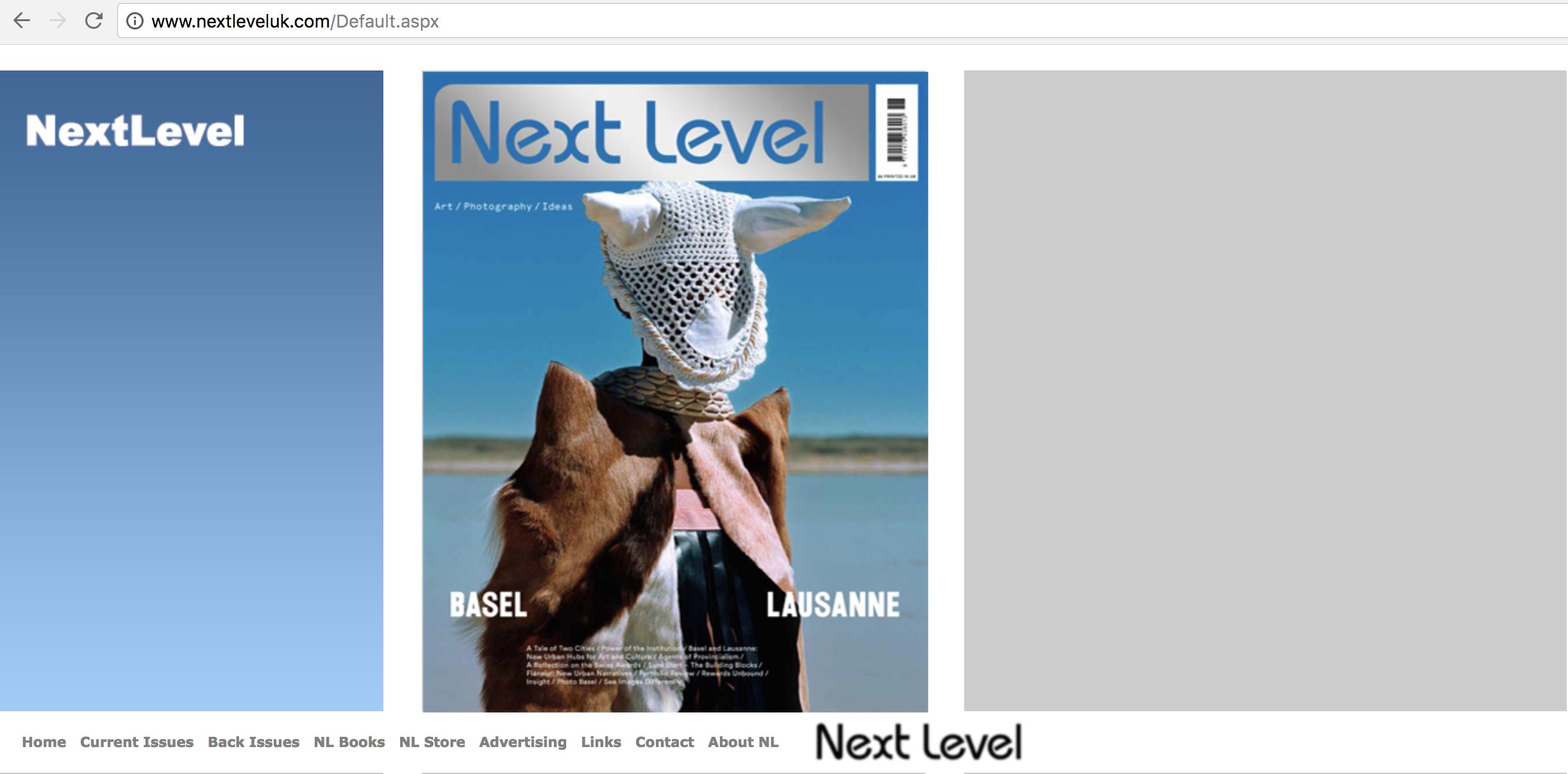 Contributor: Next Level Edition 01, Volume 03