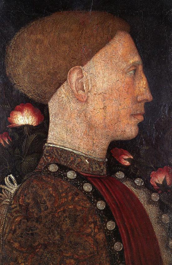 Pisanello (Antonio Pisano),  Portrait of Leonello d'Este , c. 1444