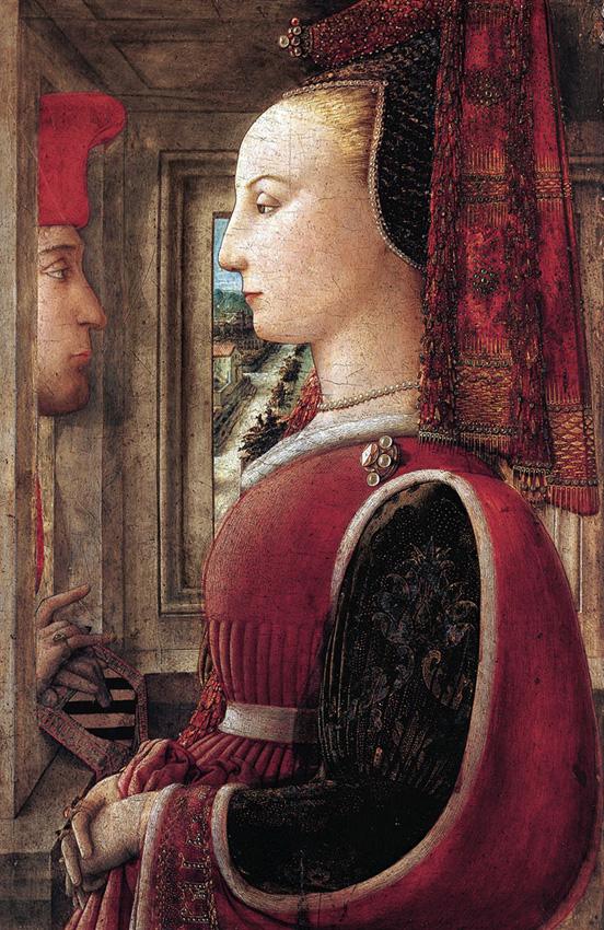 Filippo Lippi , Portrait of a Man and a Woman at a Casement , c. 1440