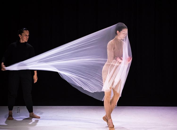 Melanie Lane and Juliet Burnett in  Re-make  by Gregory Lorenzutti