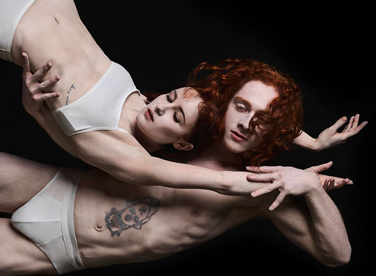 Sydney Dance Company's  Orb , promotional photograph by Jake Terrey