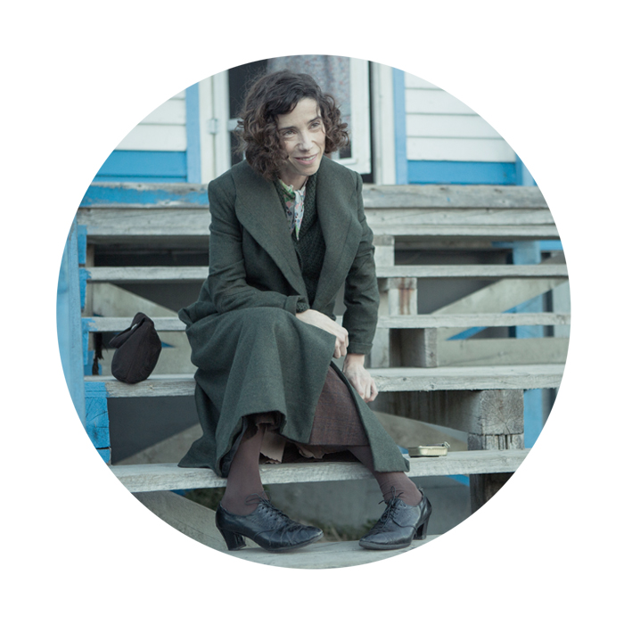 """Blue skies, cats, and oxen too. """"As long as I've got a brush in front of me I'm all right."""" MIFF2017 film 25, and we are not even halfway, belongs to   MAUDIE   (D Aisling Walsh).  """"Maud Lewis (1903–1970) had no formal training in the visual arts. Like many folk artists,   she painted for the joy of adding colour, light and fun   to a poverty stricken rural existence. She spent her entire life in and around Digby and Yarmouth counties. In her early thirties, Maud Dowley married Everett Lewis, a poor fish peddler. They began selling Maud's paintings on their trips throughout the countryside. As Maud's health deteriorated, she rarely ventured outside her tiny home.  From her small world came a proliferation of paintings depicting a charming rural life full of flowers, cats, sleigh rides, deer, and teams of curly-lashed oxen. Maud painted: boards, rocks, scallop shells and household objects with whatever paints came her way, often marine paints from local fishing boats.  Perhaps Maud's greatest work was   her home  . She painted almost every surface of the interior including the stove, windows and the door. After the death of Maud Lewis in 1970, and subsequently of her husband, Everett Lewis, in 1979, the lovingly painted home began to deteriorate. In 1984 the Province of Nova Scotia acquired the home for the Art Gallery of Nova Scotia. Since its restoration, the house has been on permanent public display in the Scotiabank Maud Lewis Gallery in the Art Gallery of Nova Scotia."""" (Art Gallery of Nova Scotia, Canada)  Postscript: If you need me,   I'll be like MAUDIE  . This world!"""